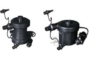 bestway 220v elektropumpe pumpe 12v auto boot luftpumpe. Black Bedroom Furniture Sets. Home Design Ideas