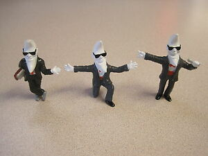 McDonalds 1988 Mac Tonight (Moon Man) Figures - Complete Set - Mac is Cool - New