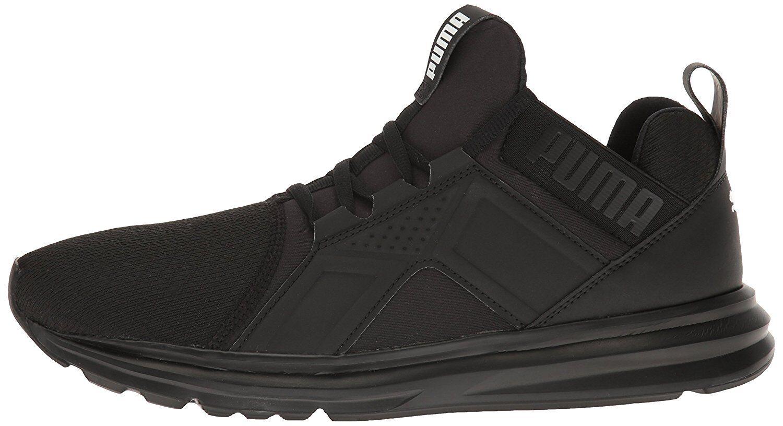 PUMA Enzo Black Men's Run Train Knit Sneakers 18949803