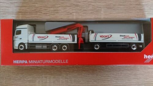 "Herpa 310444-1//87 mercedes-benz actros streamspace 2.5 tablillas-Hz /""vöckt/"""