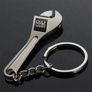 1Stk-Adjustable-Metall-Werkzeug-Schluessel-Schluesselanhaenger-Ring-Schluesselring
