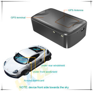 Details about Mini Real Time Waterproof GPS Tracker No Wire Long Battery  Life Car GPS New