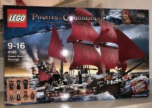LEGO-Pirates-of-the-Caribbean-4195-Queen-Anne-039-s-Revenge-Inkl-OVB
