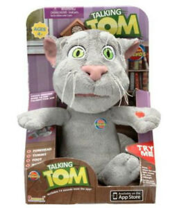 Kids Plush Talk Back Talking Tom Toy 3 Repeats What You Say Ebay