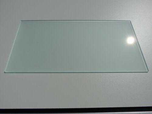 Glasboden Ersatz Milchglas Kühlschrank Einlegeboden 47cm x 17,5cm satiniert