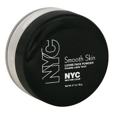 NYC Smooth Skin Loose Face Powder - Translucent