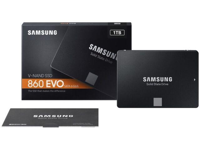 Samsung 860 EVO 1TB 2.5 inch SATA III Internal SSD (MZ-76E1T0B/AM) W/ WARRANTY