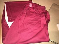Woman Within Size L Fuschia Pink Lounge Pant Style 3069-9