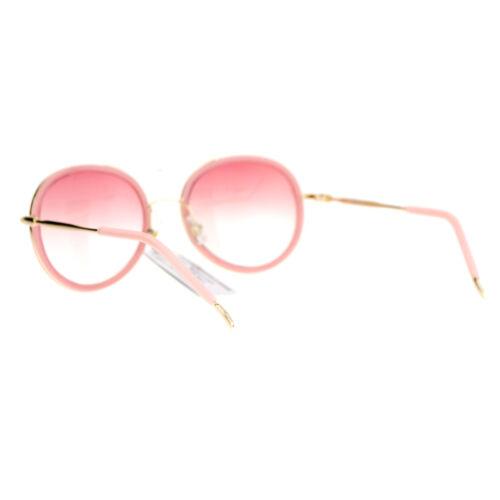 SA106 Womens Celebrity Double Rim Retro Aviator Sunglasses