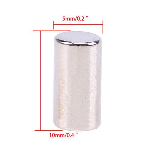 5-100Pcs Super Strong Round Disc Magnets Rare-Earth Neodymium Magnet N35//N50