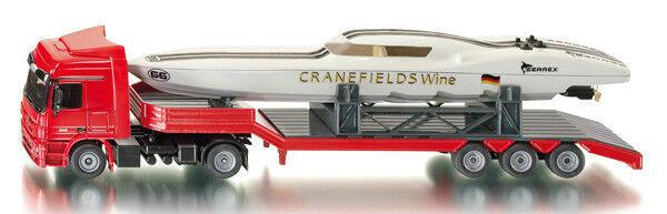 SIKU SUPER 3936 Mercedes-Benz Actros Camion + cranefields vin Power Boat Model