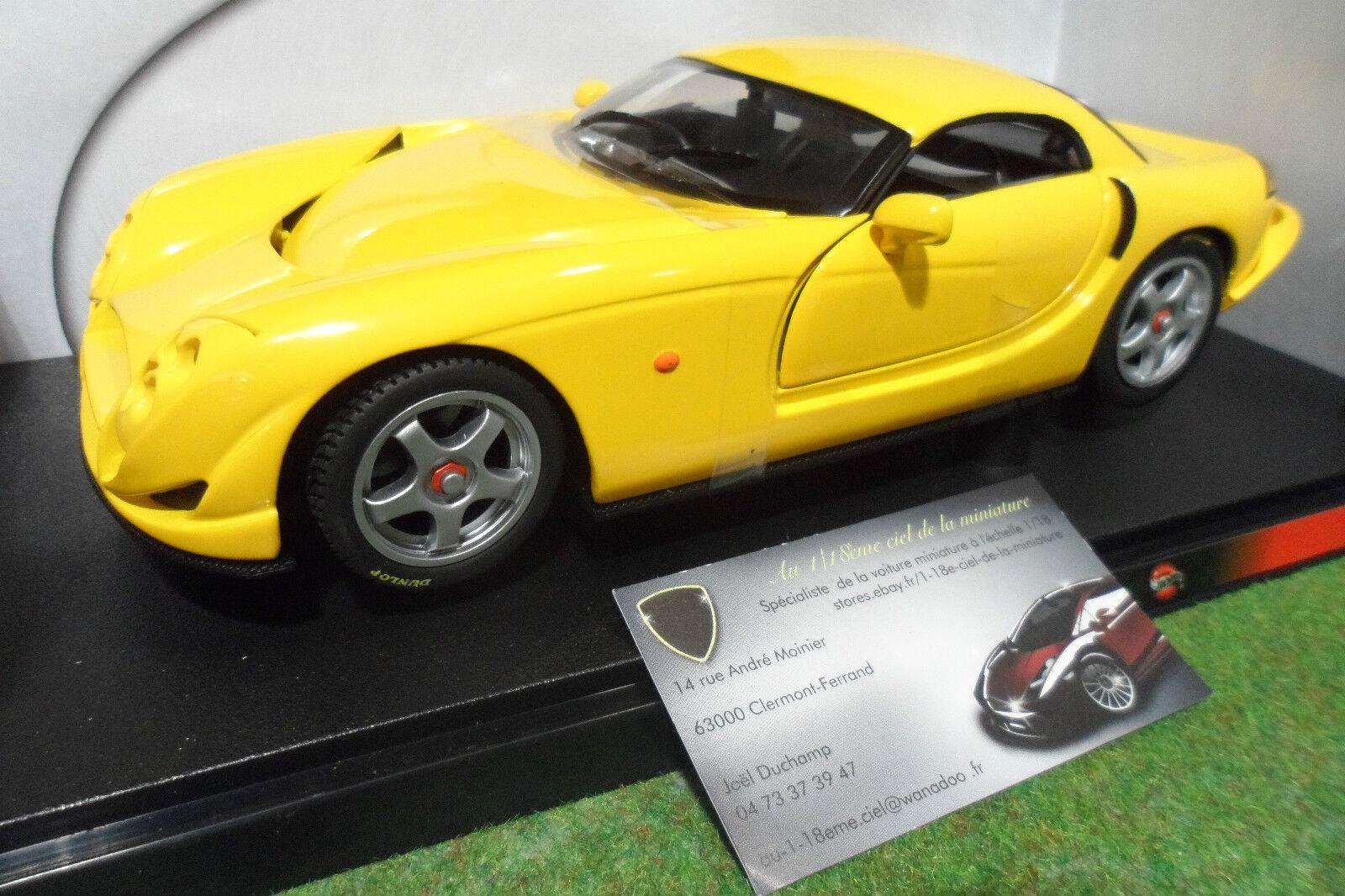 TVR SPEED 12 Jaune European series au 1 18 HOT WHEELS B4171 voiture miniature