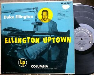 JAZZ-LP-DUKE-ELLINGTON-amp-Orchestra-ELLINGTON-UPTOWN-Columbia-6-eye-gray-label
