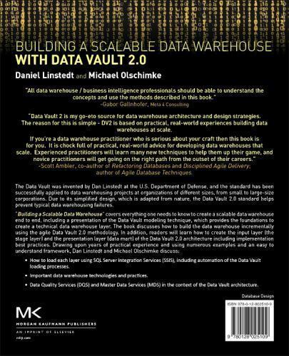 Building A Scalable Data Warehouse With Data Vault 2. 0 By
