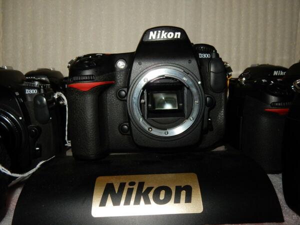 2019 Nouveau Style Nikon D D300 12.3mp Appareil Photo Reflex Numérique-noir (corps Seulement) Douceur AgréAble
