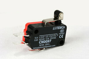2-pc-TEMCo-Micro-Limit-Switch-Short-Roller-Lever-Arm-SPDT-Snap-Action-home-LOT