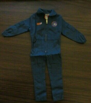 Vintage 1960s A.C Gilbert Moon McDare Jumpsuit Uniform w// both Stickers Rare