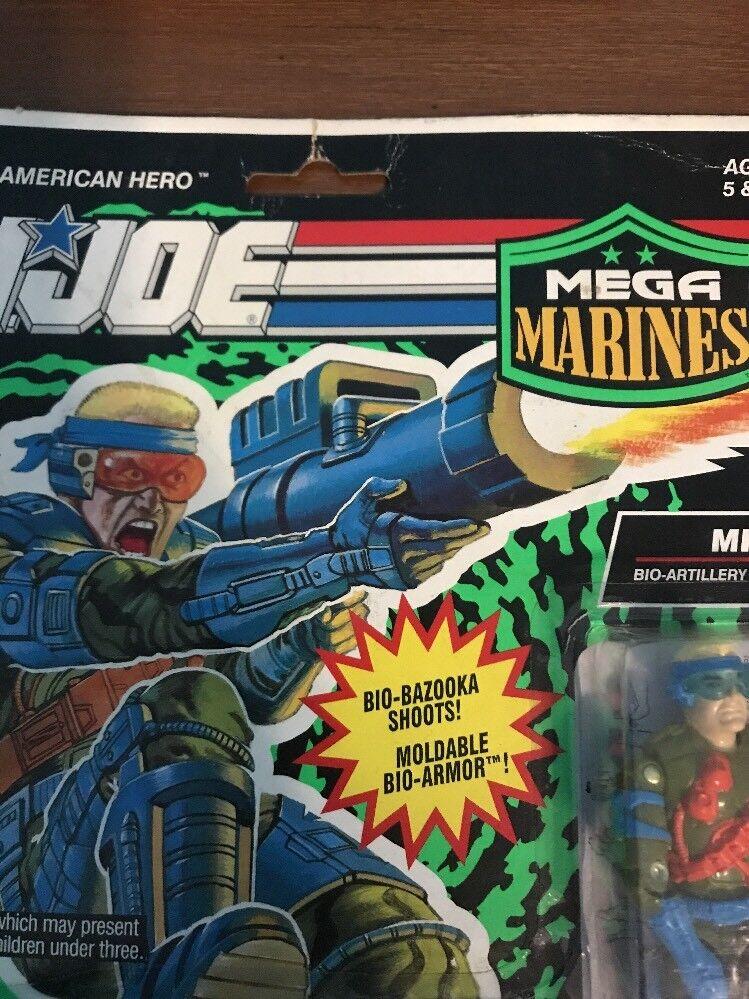 GI Joe Hasbro 1993 Mega Marines Bio-Armor Mirage Action Figure Figure Figure c36395