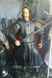 Lord of the Rings Return of the King ARAGORN Black Gate of Mordor Loose Figure