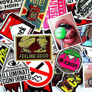 30-Pieces-Car-Skateboard-Snowboard-Motorcycle-Bike-Laptop-Sticker-Wall-Accessory