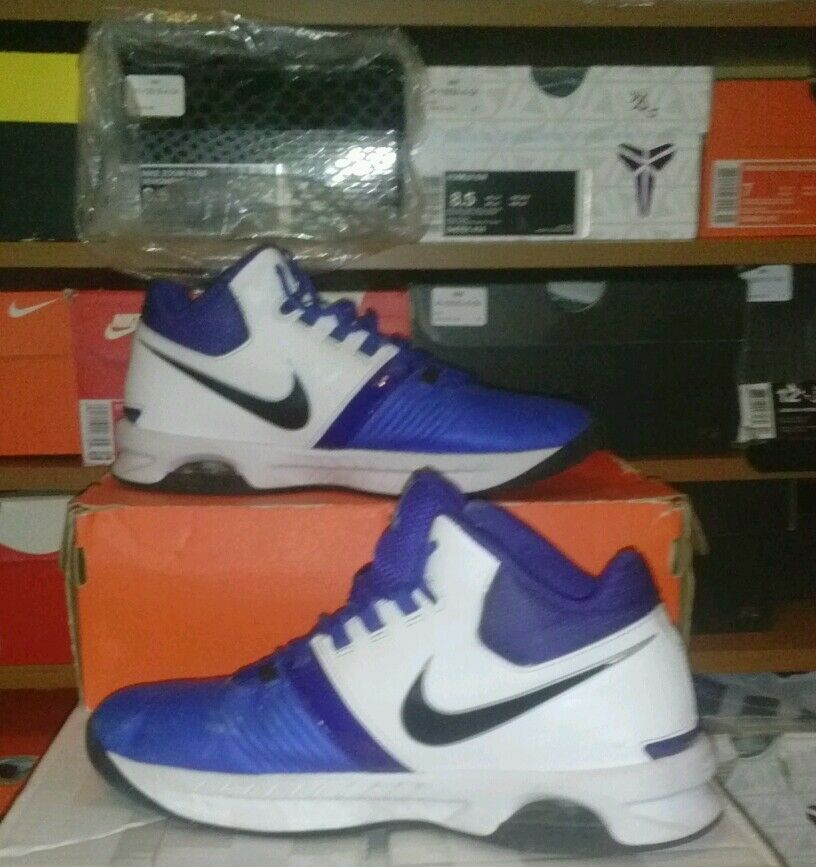 Great discount Nike zoom air white blue nice