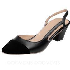 e87db786d item 8 Womens shoes Pumps Ladies Two Tone Slingbacks Mid heel high heels  Sandals Size -Womens shoes Pumps Ladies Two Tone Slingbacks Mid heel high  heels ...