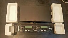 Used working Numark MP302 twin CD player 19inch rackmount Boxed w/instructions