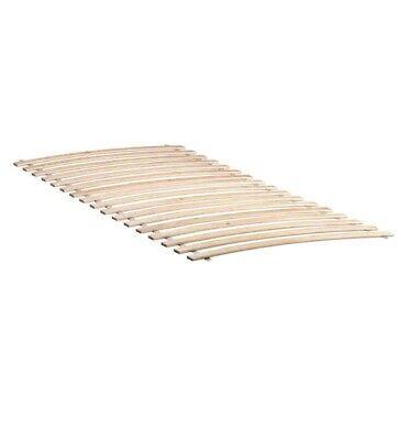 Lattenrost Bettenrost flexibel Birkenholz IKEA LURÖY Federholzrahmen 80x200cm