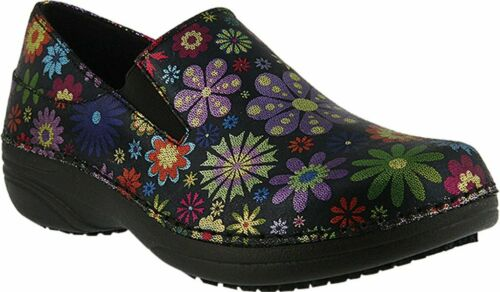 Spring Step Pro Manila-flpwr Shoes Black Multi New
