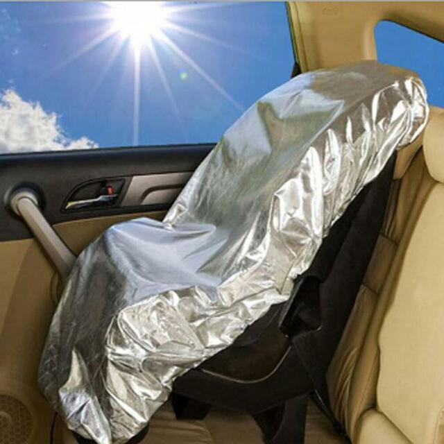 Baby Kids Car Seat Sun Shade UV Protector Carseat Dust Cover Heat Insulation Q
