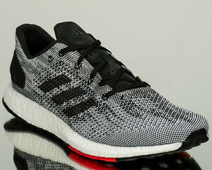 a09debac759ca adidas pureboost DPR men running run sneakers shoes NEW black white ...