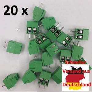20 x KF350-3.5-2P Terminal Schraub Verbinder