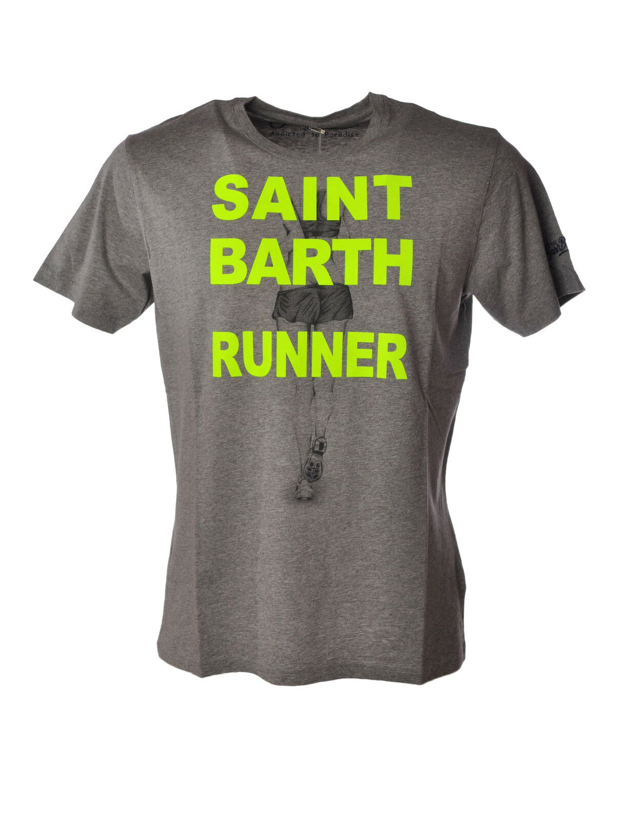Saint Barth - Topwear-T-shirts - Man - Grau - 3497810C184155
