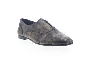 Frye Terri Slip On 76544 Womens Gold Leather Flats Shoes