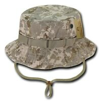 Desert Camo Military Boonie Hunting Army Fishing Bucket Jungle Cap Hat M L Xl