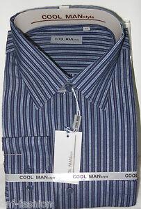 Camicia-classica-uomo-Cool-Man-manica-lunga-collo-classico-art-162