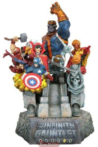 Marvel Infinity Gauntlet Infinity War Thanos Kotobukiya Fine Art Statue  1500