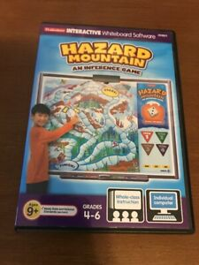 Details about Lakeshore Interactive Whiteboard Software Hazard Mountain  Inference Game