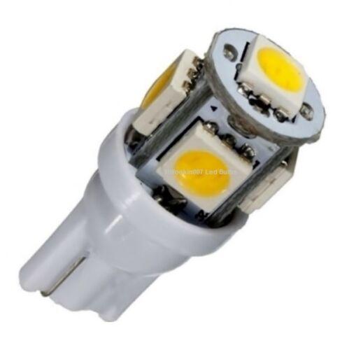 2 WARM WHITE 5LED Replaces 12v T5 Malibu bulbs Landscape light bulbs