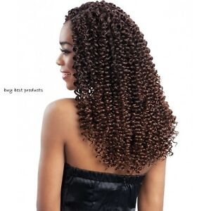 Freetress Braiding Hair Extension Water Wave Curly Braids 12