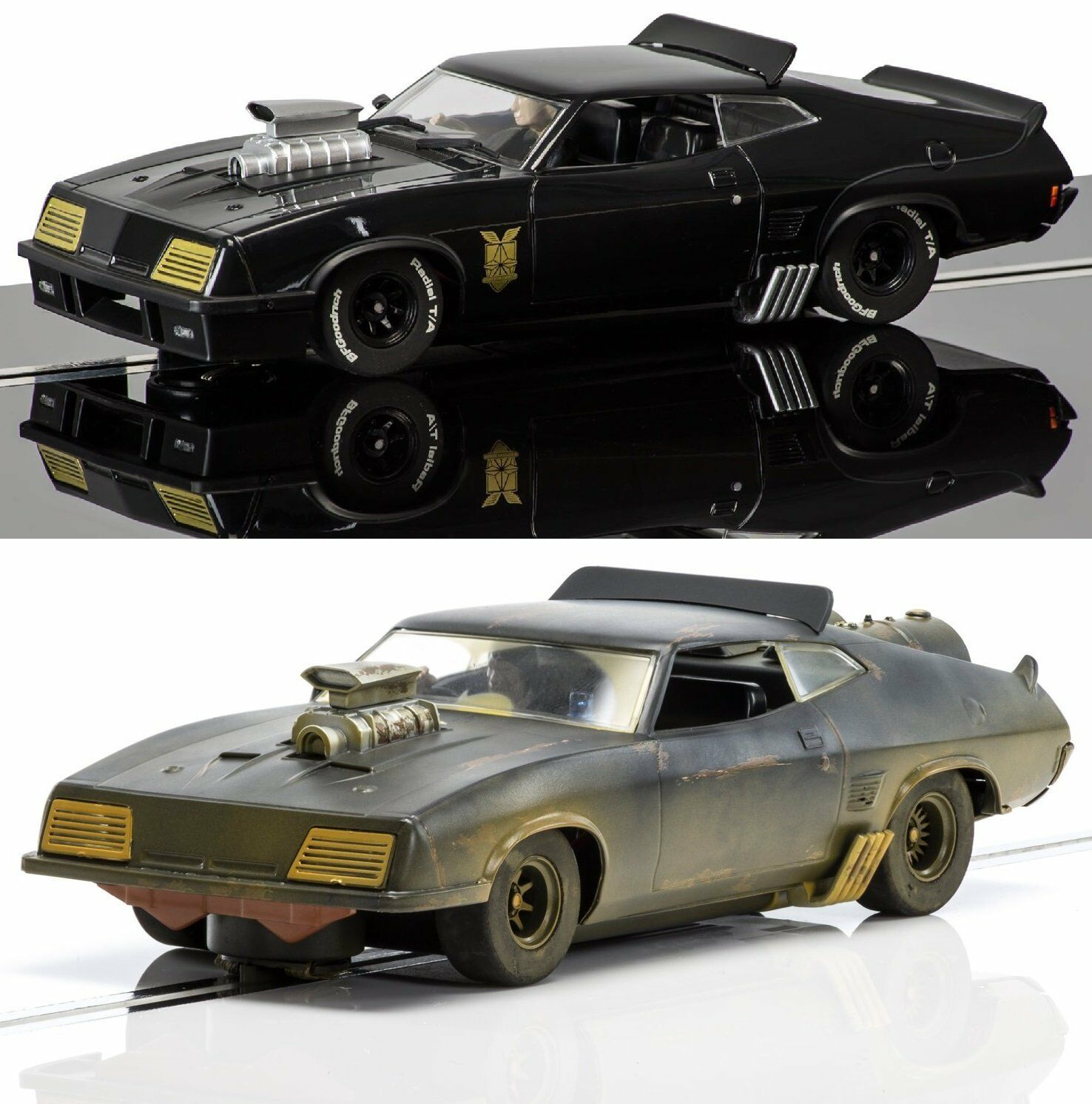 Scalextric 3983 3697 Ford Xb Mad Max - Set