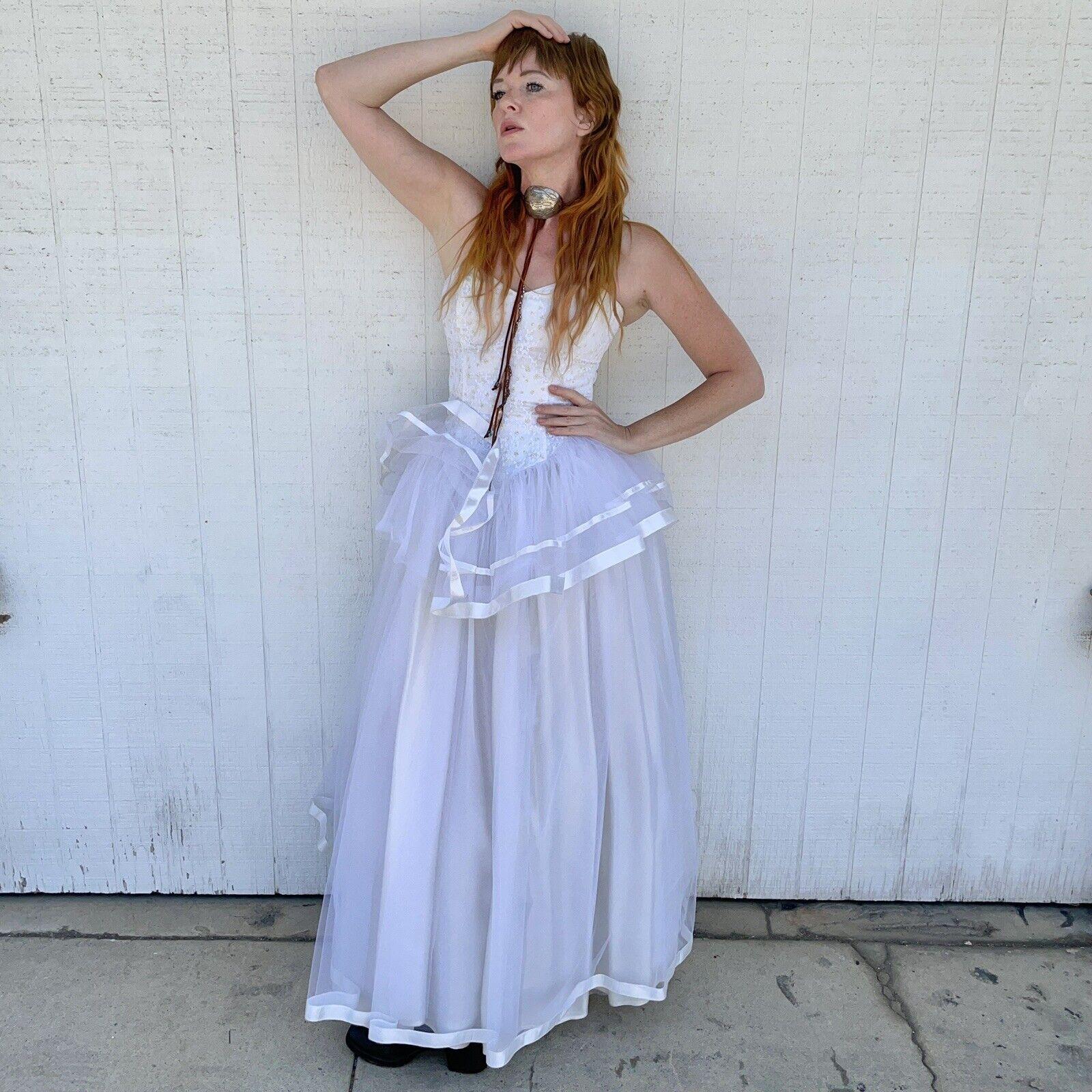 Vintage Gunne Sax Jessica McClintock Wedding Prom… - image 4