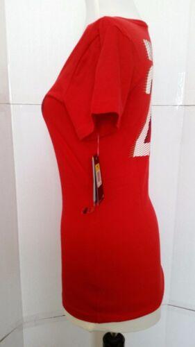 fit Fit 20 Rojo Soccer para Talla Camiseta Nuevo mujer S 823233276321 Wambach Slim Nike Dri n8wxqCpv