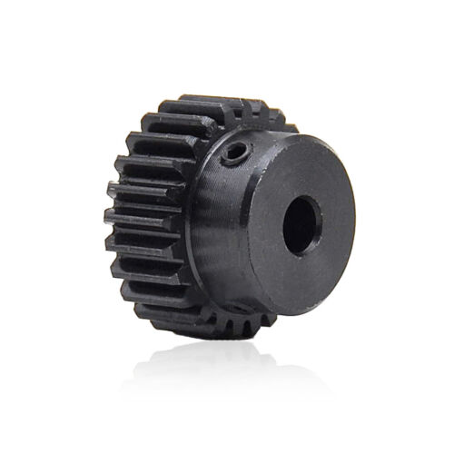 45# Steel Spur Motor Pinion Gear 1Mod 15T Outer Diameter 17mm Bore 4mm x 1Pcs
