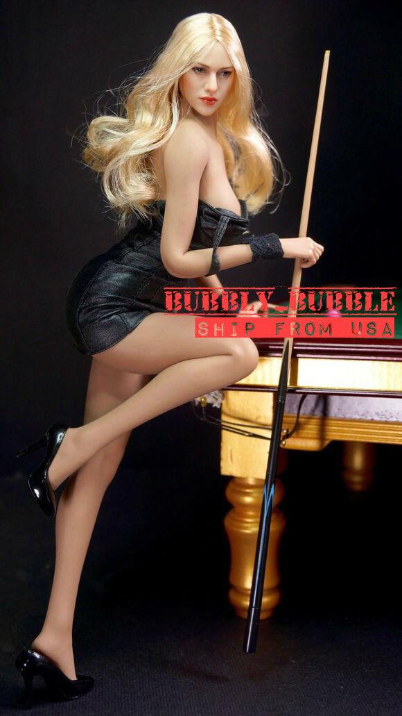 PHICEN 1 6 Super-Flexible Seamless Female Body American Beauty Doll Set  USA