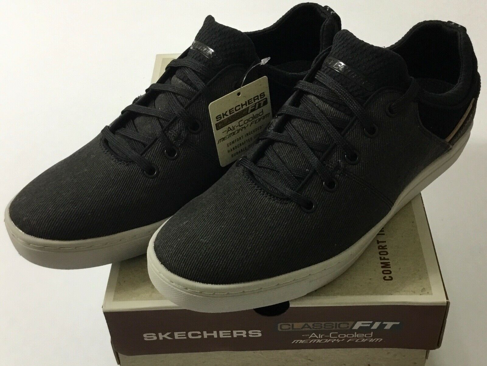 Skechers 64964 BLK Alven Ravago Black