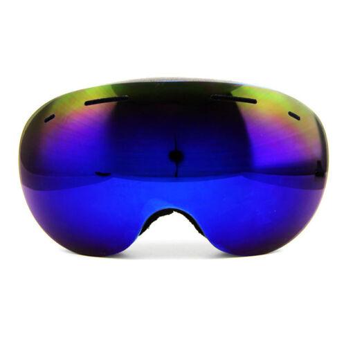 Anti-fog Ski Goggles UV400 Ski Glasses Double Lens Skiing Skateboard Goggles NEW