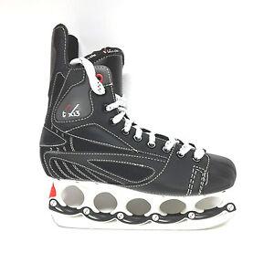 Schlittschuh-tx-13-Eishockey-Schlittschuhe-mit-t-blade-3-teilig-Gr-44-Paar