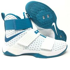 44fdf731a0d item 4 Nike Lebron Soldier 10 TB Teal White Basketball Shoes Size 11.5  856489 131  140 -Nike Lebron Soldier 10 TB Teal White Basketball Shoes Size  11.5 ...
