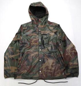 Herschel Supply Co Forecast Hooded Coach Jacket 15008 00027 Camo